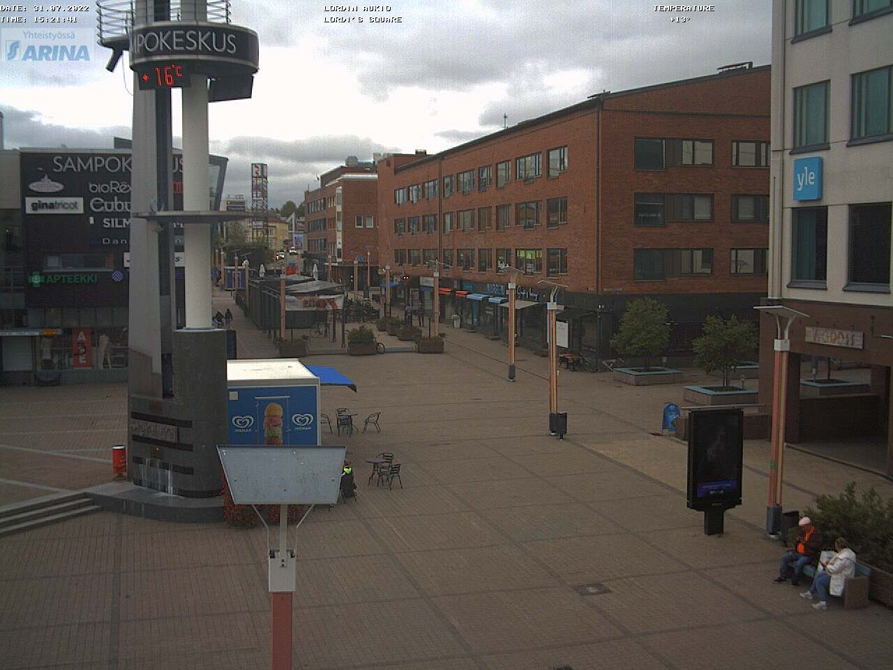 Webcam - Lordi aukio