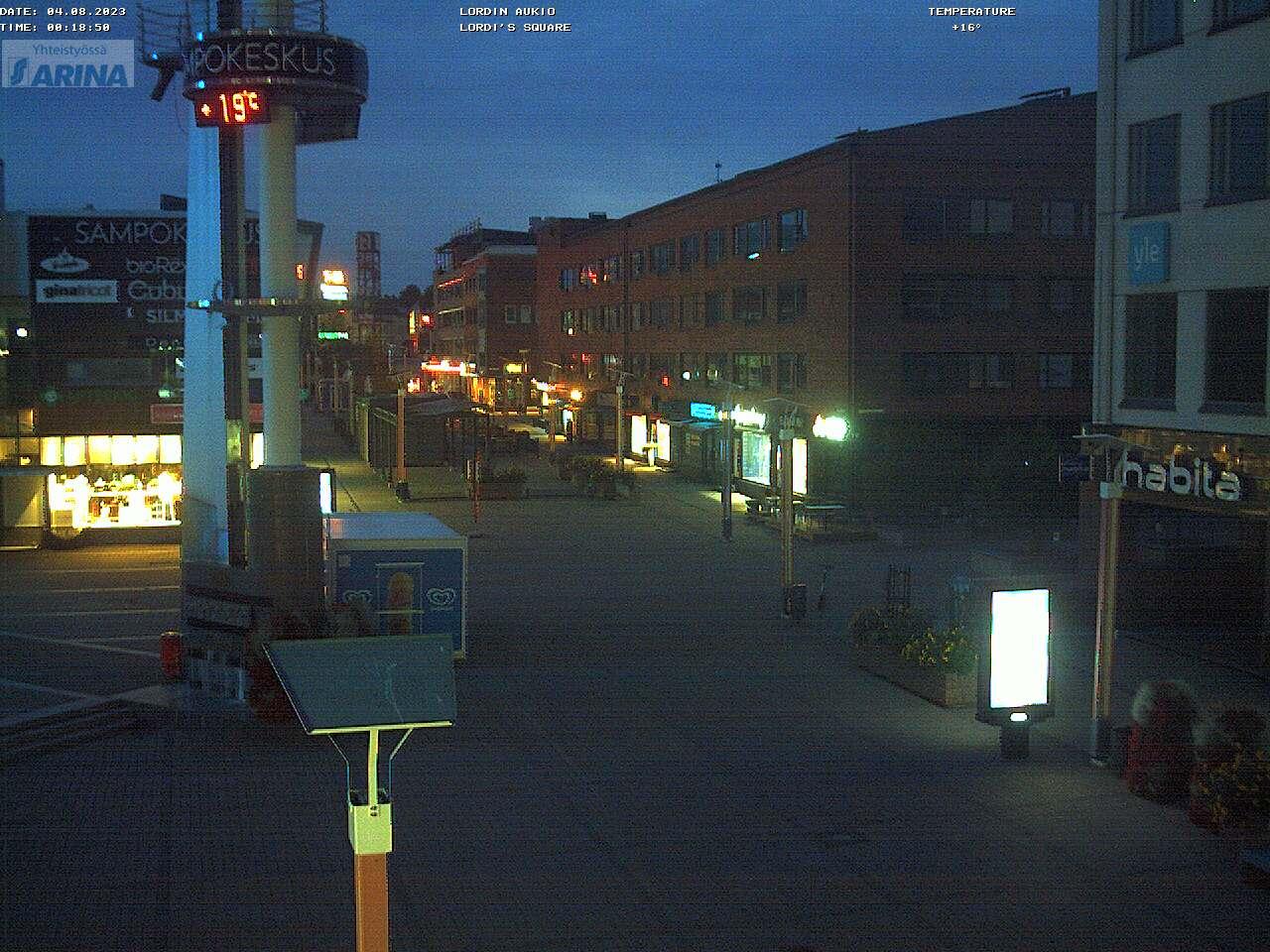 Finland Christmas Market 2019.Live Lordi Square Christmas Market Wencam Rovaniemi City