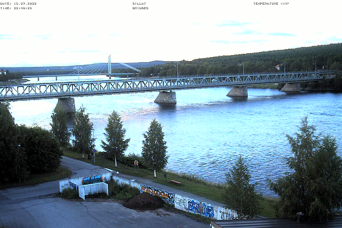 Webcam Rovaniemi - Lumberjacks Candle Bridge