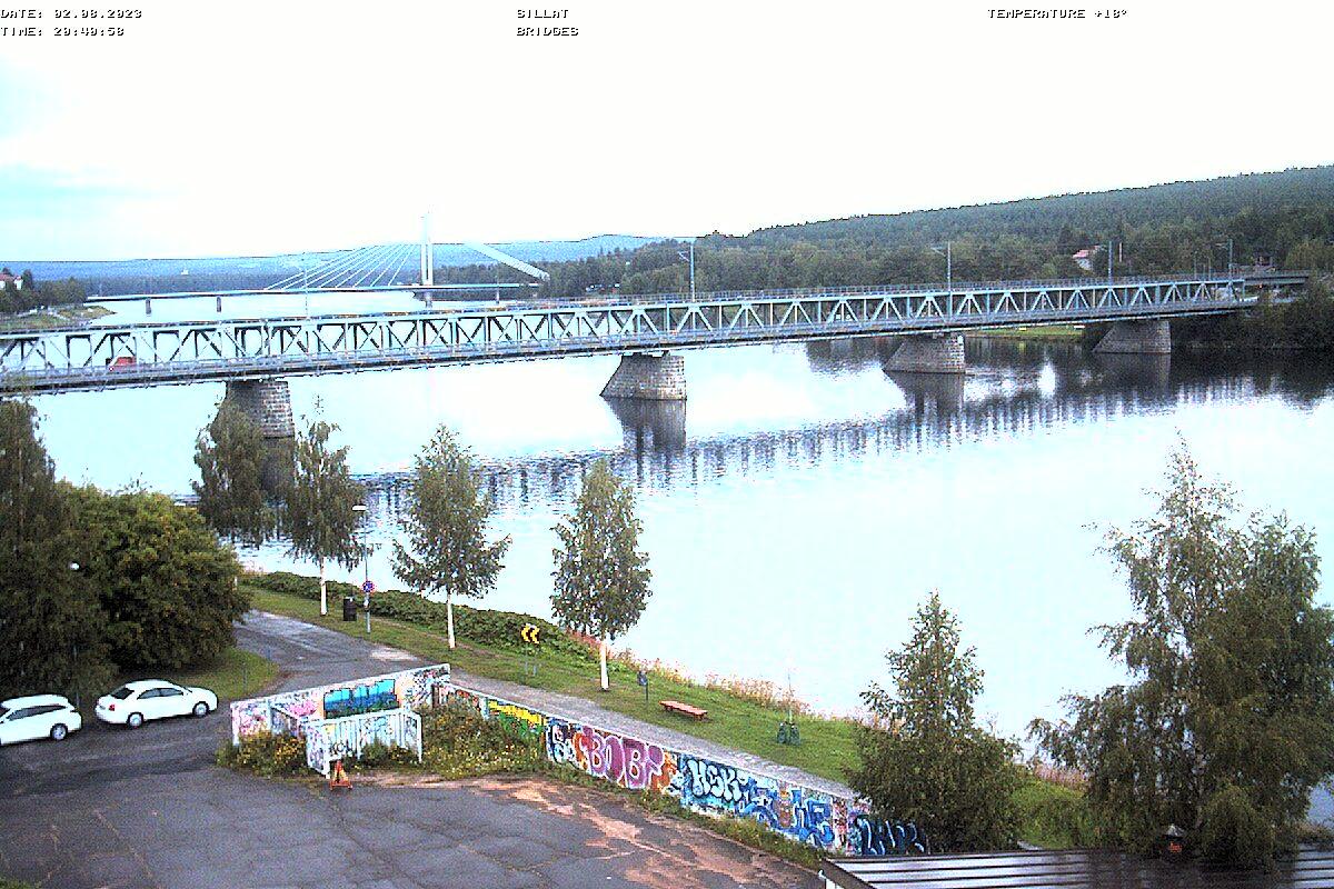 Rovaniemi – Jätkänkynttilä Brücke webcam Live