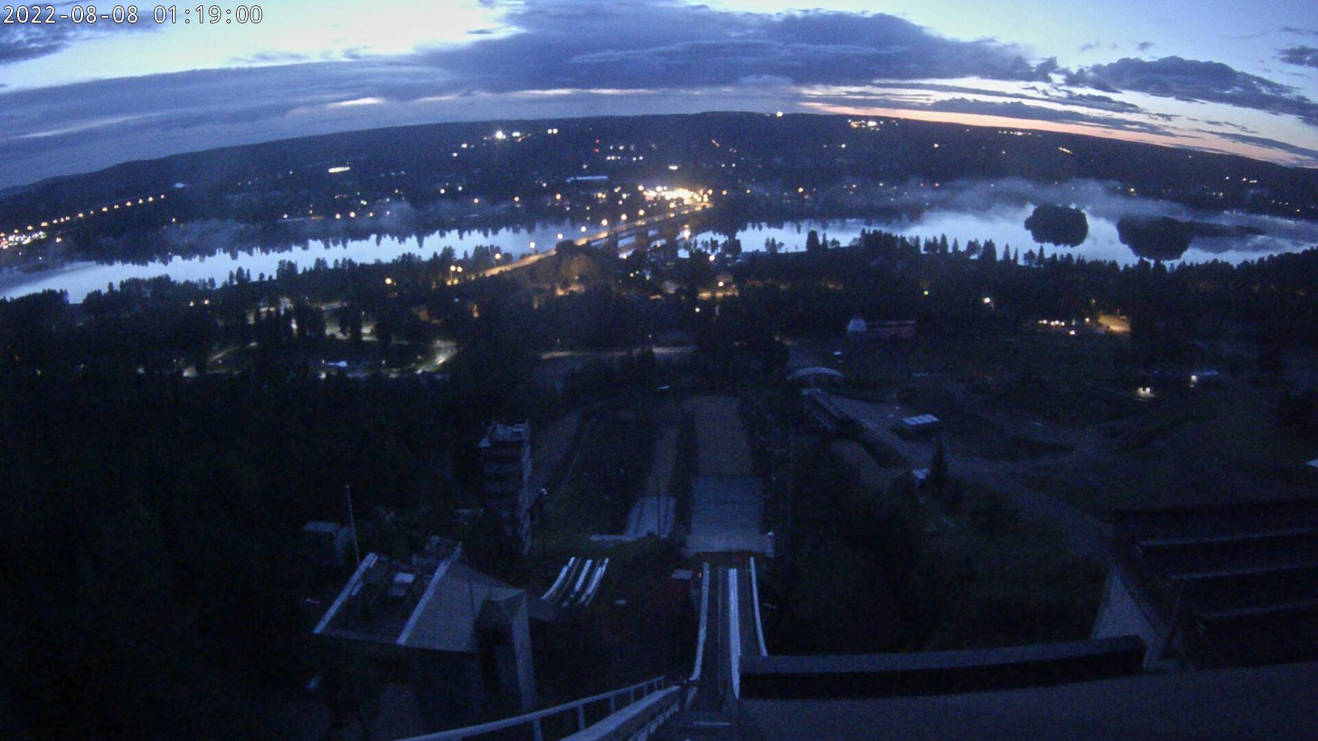 Webcam - Ounasvaara ski jumping hill